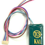 1590 Replacement auxiliary harness for the WOW Sound decoder line with a KA1 Keep-Alive (TM) device attached - #TCS-WAUX-KA1