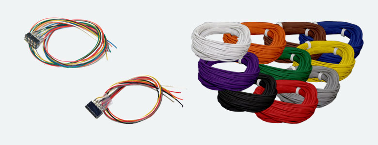 "Super thin cable, 0.5mm (0.019"") diameter, AWG36, 100m (328 feet) 10 colors - #Wire36Kit"