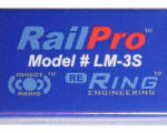 RailPro LM-3S HO Scale Locomotive Decoder Module with Sound - #634-LM-3S