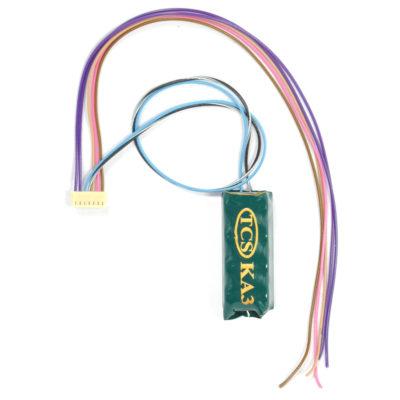 1594 WOWSound decoder harness with KA3 - #TCS-WAUX-KA3