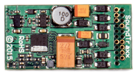TSU-21Pin NEM for Baldwin and Other Diesels - 1 Amp, 6-function decoder - #678-885012