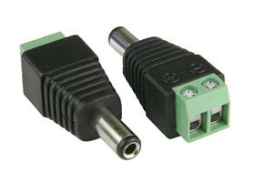 5.5/2.5mm Power Plug-Screw Terminals (19453) - #Plug2.5mmScrew