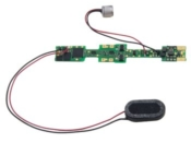 Drop In Mobile Sound Decoder, fits Kato N Scale 4-8-4 FEF and similar - #245-SDXN146K4