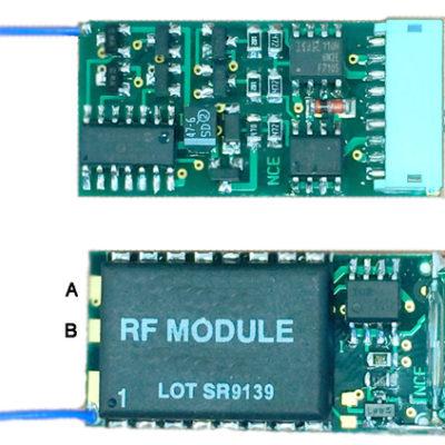 5240155 Dead Rail Wireless Decoder - #524-D13DRJ