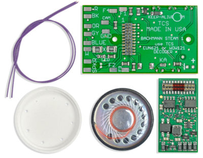 1900 WOW KIT IS A DCC SOUND TOTAL CONVERSION KIT - #TCS-WSK-BAC-1