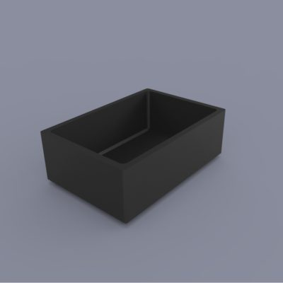 Dual 13x18 Sugar Cube Speaker Enclosure - #SPENC-26x18H12
