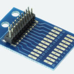 21-Pin Adaptor Board with soldering pads - #397-51967