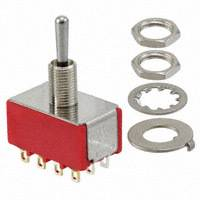 Toggle Switch 4PDT 5 Amp - #SW-4PDT-on-off-on