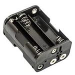 Battery Holder 6 AA Cell with Bump Plates - #BatAA6Holder