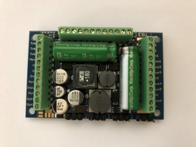 "LokSound 5 XL DCC/MM/SX/M4 ""Blank decoder"", Screw Terminal, Retail, Gauge G, I - #397-58513"