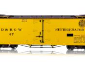 HOn3 D&RGW 30-Foot Refrigerator Car #47 Moffat Tunnel Herald - #678-B340813