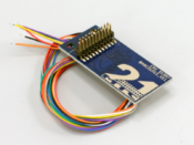 Adapter board 21MTC for 8 amplified outputs, with soldering pads and wires - #397-51957