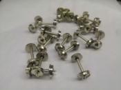 """Wheelset HO 33 inch nickel silver - Pack of 100 Axles - #33""""WheelSet"""