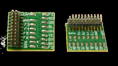 European Hardwire Plug (MALE) 21-HWM-5PACK - #TCS-1653