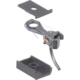 """#143 HO Scale 140-Series Whisker® Metal Couplers with Gearboxes - Short (1/4"""") Centerset Shank - #380-143"""