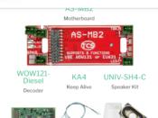 1779 WDK-ATL-6 WOWKit is a DCC sound total conversion kit - #TCS-WDK-ATL-6
