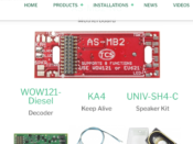 1780 WDK-ATL-7 WOWKit is a DCC sound total conversion kit - #TCS-WDK-ATL-7