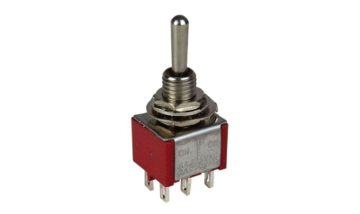 Switch DPDT On-Off-On Toggle - #SW-DPDT-On-Off-On